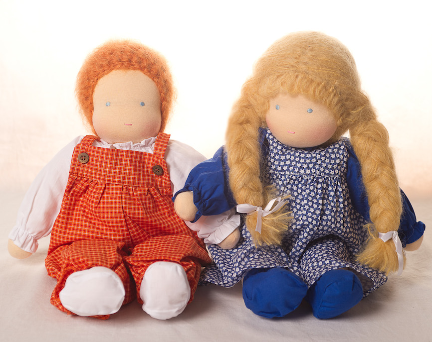 Waldorf Dress Up Dolls - Girl and Boy