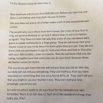 This letter was written by three Australian teachers to their…