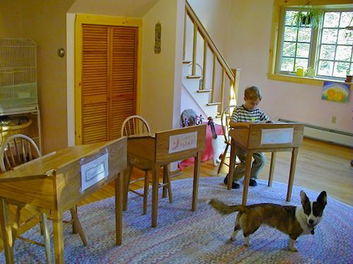Waldorf Homeschool Classroom