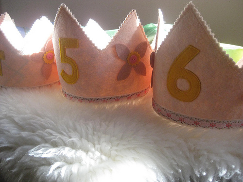 Waldorf Birthday Crowns
