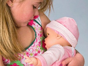Breastfeeding Doll