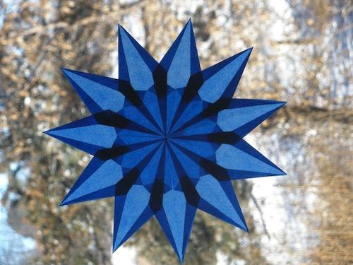 Waldorf Window Stars