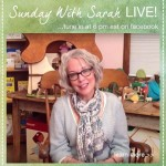 Sarah Answers Your Questions Live on Facebook on Sunday July31hellip