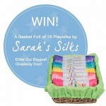 HOORAY! Its a Sarahs Silks Giveaway! Win a basket ofhellip