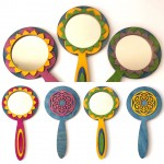 We are mad about these new Wooden Flower Mirrors availablehellip