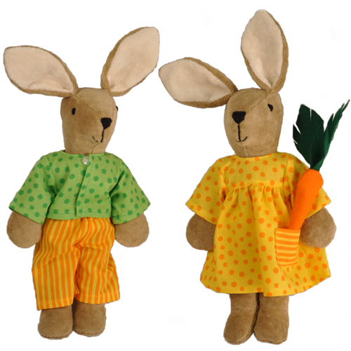 Organic Bunny Rabbits made in Germany