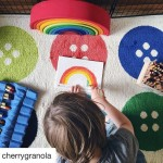 Color your days! Lovely photo from cherrygranola ! Wooden Rainbowhellip