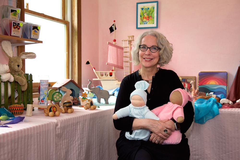 Sarah Baldwin, Owner of Bella Luna Toys