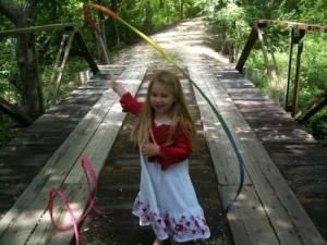 Silk Streamer from Sarah's Silks