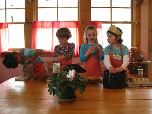 Waldorf Kindergarten Snack Time