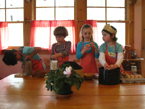 Cooking in a Waldorf Kindergarten