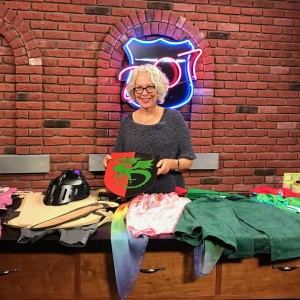 Shot a segment today for the TV news program 207 in Portland, Maine on alternative costumes for Halloween featuring dress-ups from @bellalunatoys . Maine friends can tune in to channel 6 Friday, Oct. 14 at 7 p.m. to view the segment!