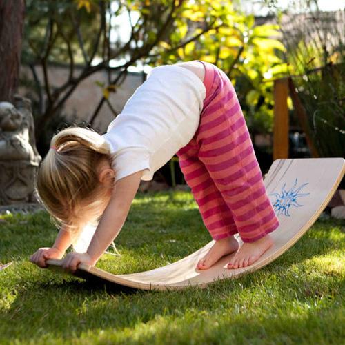 Waldorf Rocker Board - Curvy Board - Balance Board