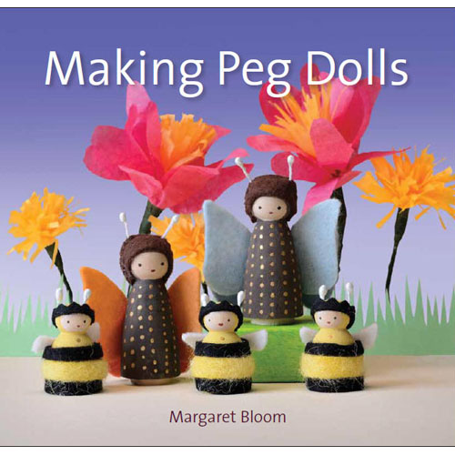 How to Make Wooden Peg People Dolls