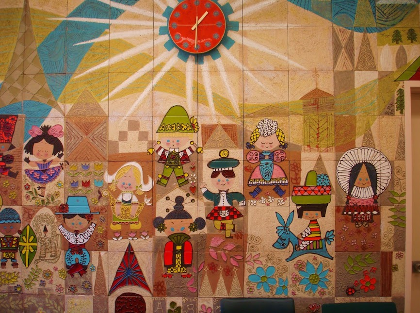 Making peg dolls with margaret bloom moon child blog for Disneyland mural