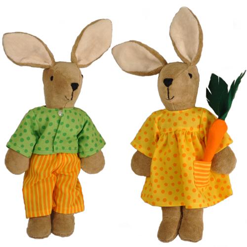 Organic Bunny Rabbits made in Germany