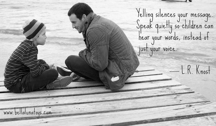 Yelling Silences Your Message