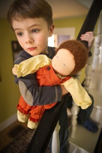 Boys and Doll Play