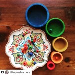 Love this gorgeous photo of our new Wooden Rainbow Bowlshellip