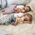 Fast asleep snuggled up with our Organic Sleeping Waldorf Dollhellip