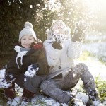 Italian children delight in a rare snow day here yesterday!hellip